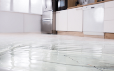 Qu'est-ce qui provoque les fuites d'eau?